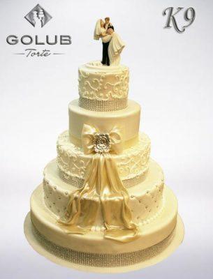 svadba i vencanje-golub-torte