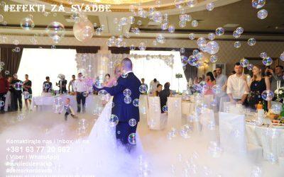 prvi ples-suvi led-baloncici-vatromet-de marko-bend za svadbe