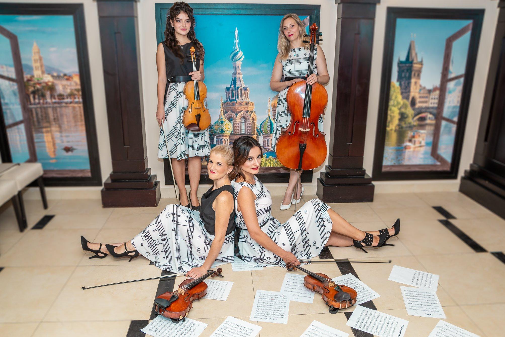 svadba i vencanje-gudacki kvartet-naš kvartet
